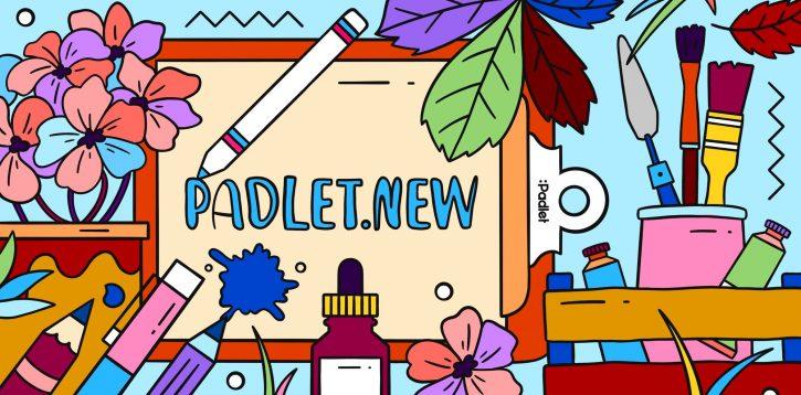 Escriba padlet.new en su navegador para crear nuevos padlets